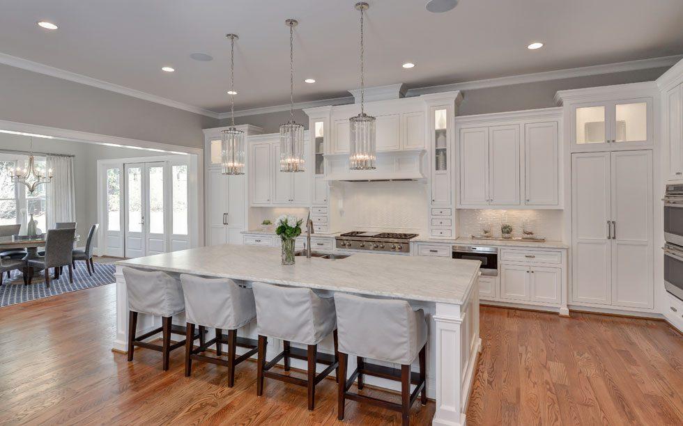 va highland kitchen white marble - Highland Kitchen